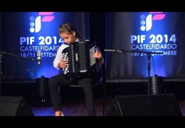 PIF2014   Sunday 21st  Category A award ceremony and performance by the winner, Antonela Glavic
