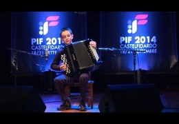 PIF2014   Sunday 21st  Category B award ceremony and performance by the winner, Alessandro Pagliari