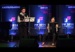 PIF2014 | Domenica 21 | Premiazione della Categoria G ed esibizione dei vincitori, Accordion Clarinet Duo