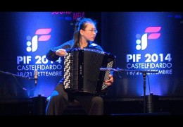 PIF2014   Sunday 21st  Category Premio award ceremony and performance by the winner, Janan Tian