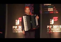 PIF2015 | Sunday 20th | Category D award ceremony and performance by the winners Anna Kryshtaleva