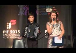 PIF2015 | Domenica 20 | Premiazione Categoria A ed esibizione del vincitore Ante Selak