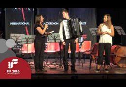 PIF2016 | Domenica 25 | Premiazione Categoria C ed esibizione del vincitore Ratoi Radu