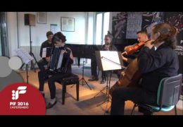 "PIF2016   Saturday 24th   AperiPIF, ""Encore"" performed by Elena Champion"
