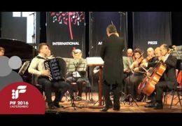 PIF2016 | Domenica 25 | Vladimir Stupnikov, audizione Categoria Premio terza prova