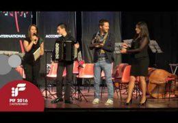PIF2016 | Domenica 25 | Premiazione Categoria B ed esibizione del vincitore Alessandro Pagliari