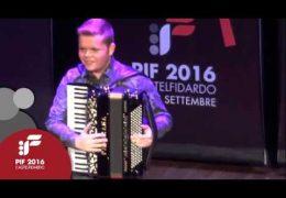 PIF2016 | Venerdì 23 | Premiazione Categoria H ed esibizione del vincitore Gustavo Aliandre