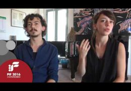 PIF2016 | Saturday 24th | AperiPIF, interview with Elena Champion and Francesco Melani