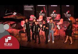 PIF2016 | Domenica 25 | Premiazione Categoria E ed esibizione dei vincitori Lecce Accordion Project