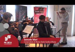"PIF2016 | sabato 24 | AperiPIF, Samuele Telari esegue ""Esar II"""