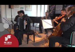 "PIF2016   Saturday 24th   AperiPIF, ""Canoni"" performed by Pietro Pardino"
