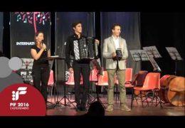 PIF2016 | Domenica 25 | Premiazione Categoria D ed esibizione del vincitore Artur Adrshin