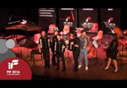 PIF2016   Sunday 25th   E Category award ceremony and performance by the winners Lecce Accordion Project