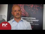 Interview with Angelo Biancamano, composer of the mandatory piece of Premio category PIF2017